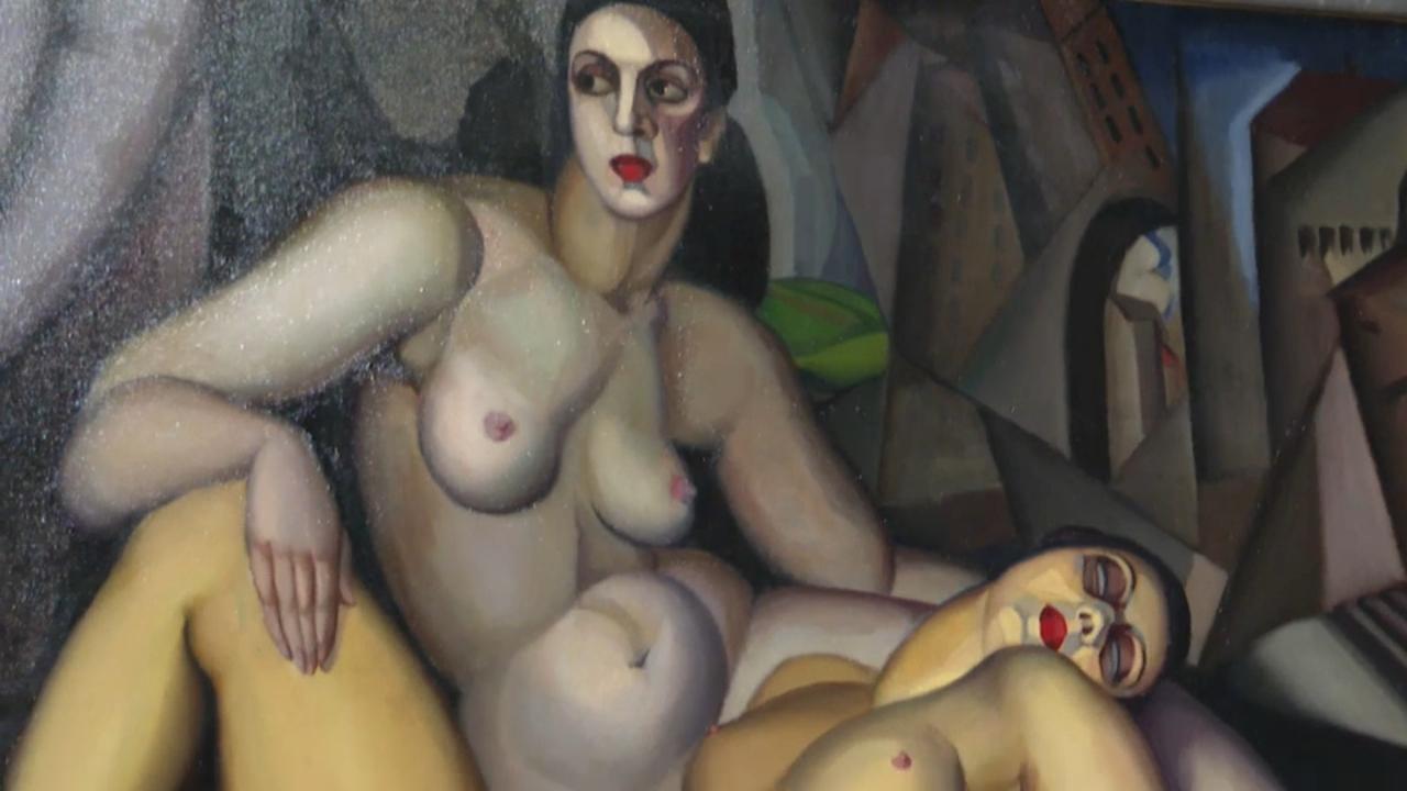 La mostra reuneix 219 obres d'una cinquantena d'artistes com Otto Dix, Jeanne Mammen o Dalí