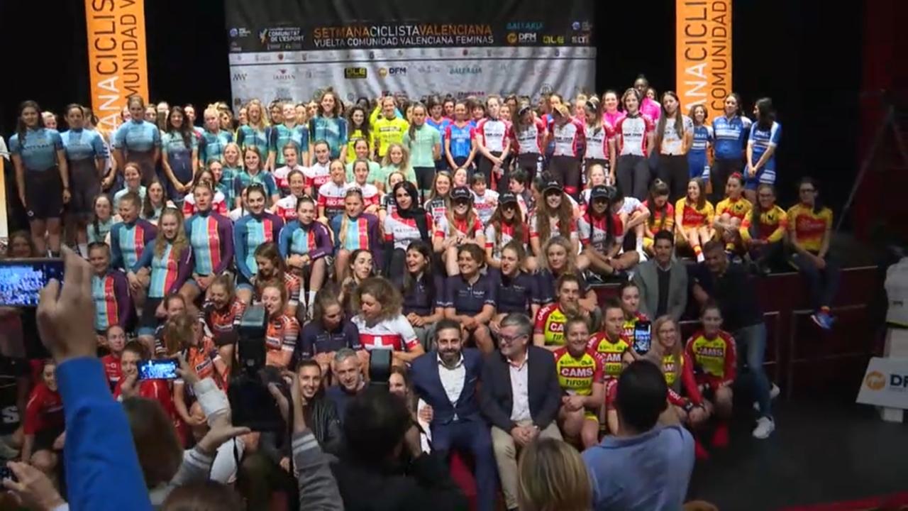 Presentació de la setmana ciclista