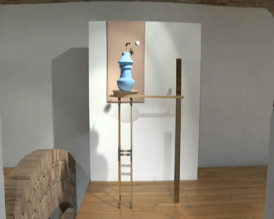 Peça guanyadora de la 14 edició de la Biennal de Ceràmica de Manises