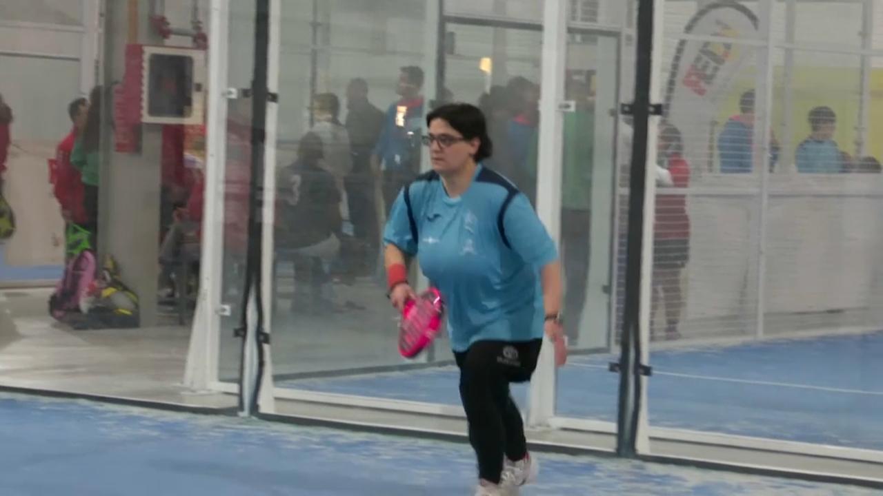 Èxit en el Campionat d'Espanya de pàdel adaptat a Ontinyent