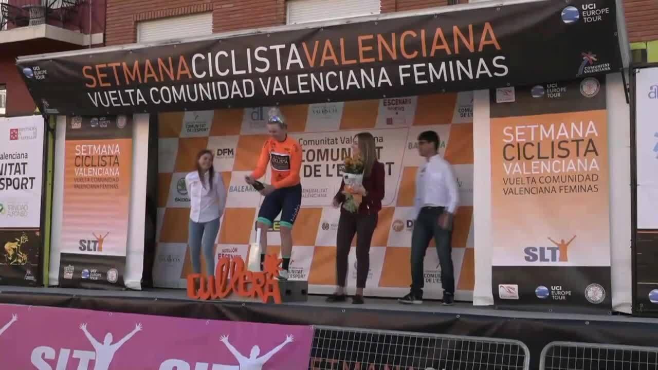 Emma Jorgensen, primera líder de la Setmana Ciclista Valenciana