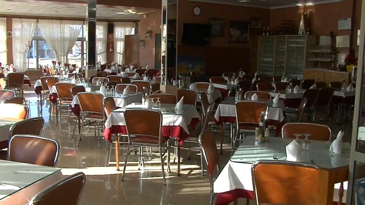 Pocs clients als restaurants de l'N-340 a Torreblanca