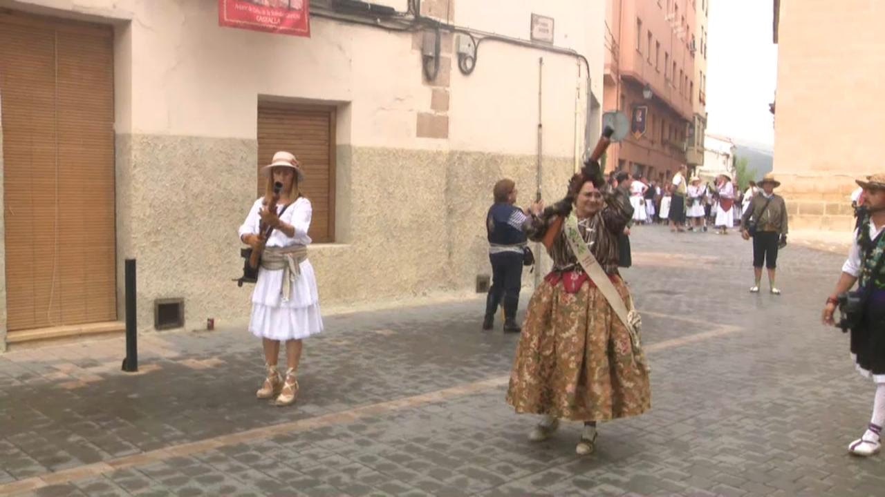 Castalla viu les festes de Moros i Cristians