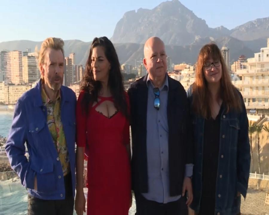 Isabel Coixet, en ple rodatge de 'Nieva en Benidorm'