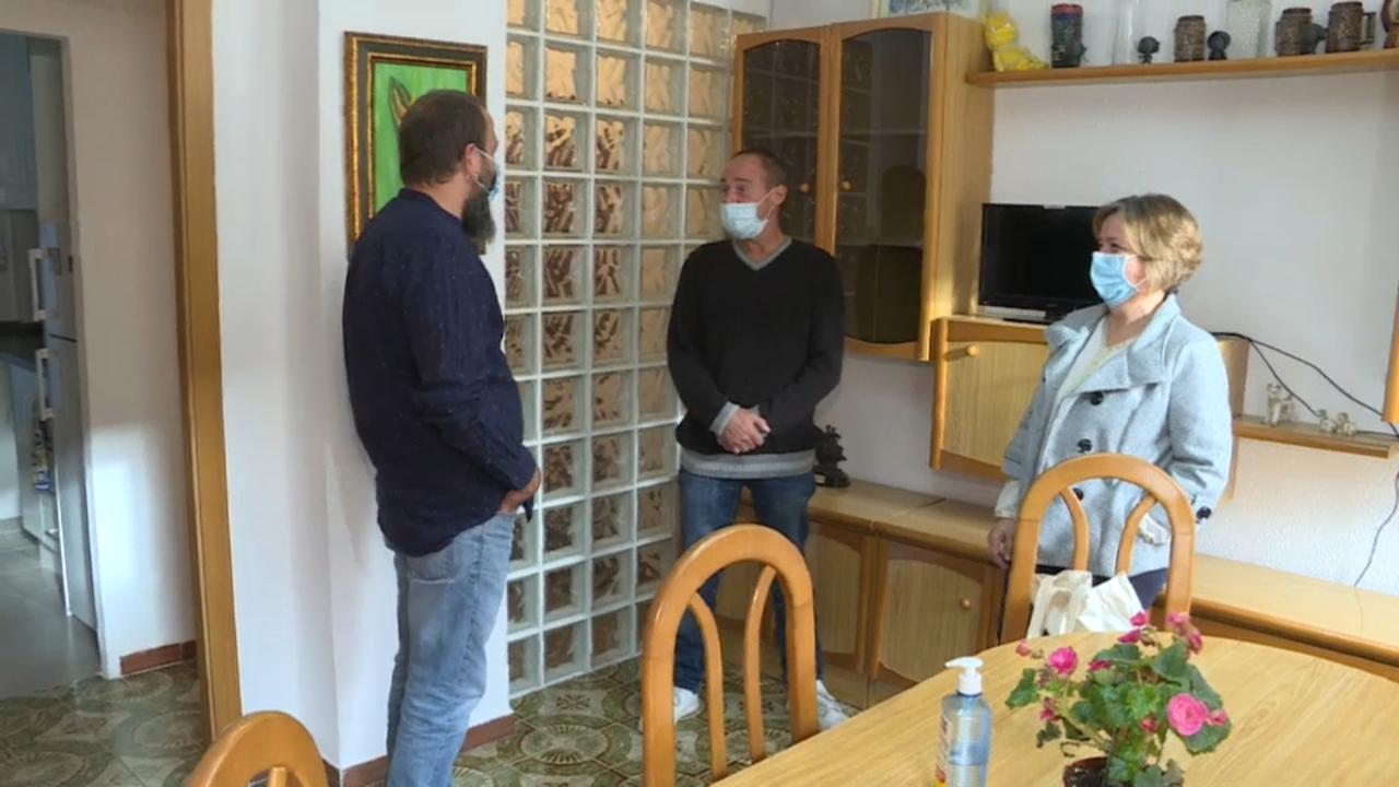 Visitem uns dels pisos que gestiona l'entitat sense ànim de lucre Sant Joan de Déu a València
