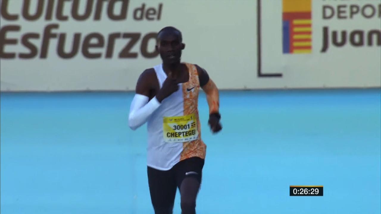 L'atleta ugandés buscarà batre el rècord en aquesta distància, establit fa quinze anys