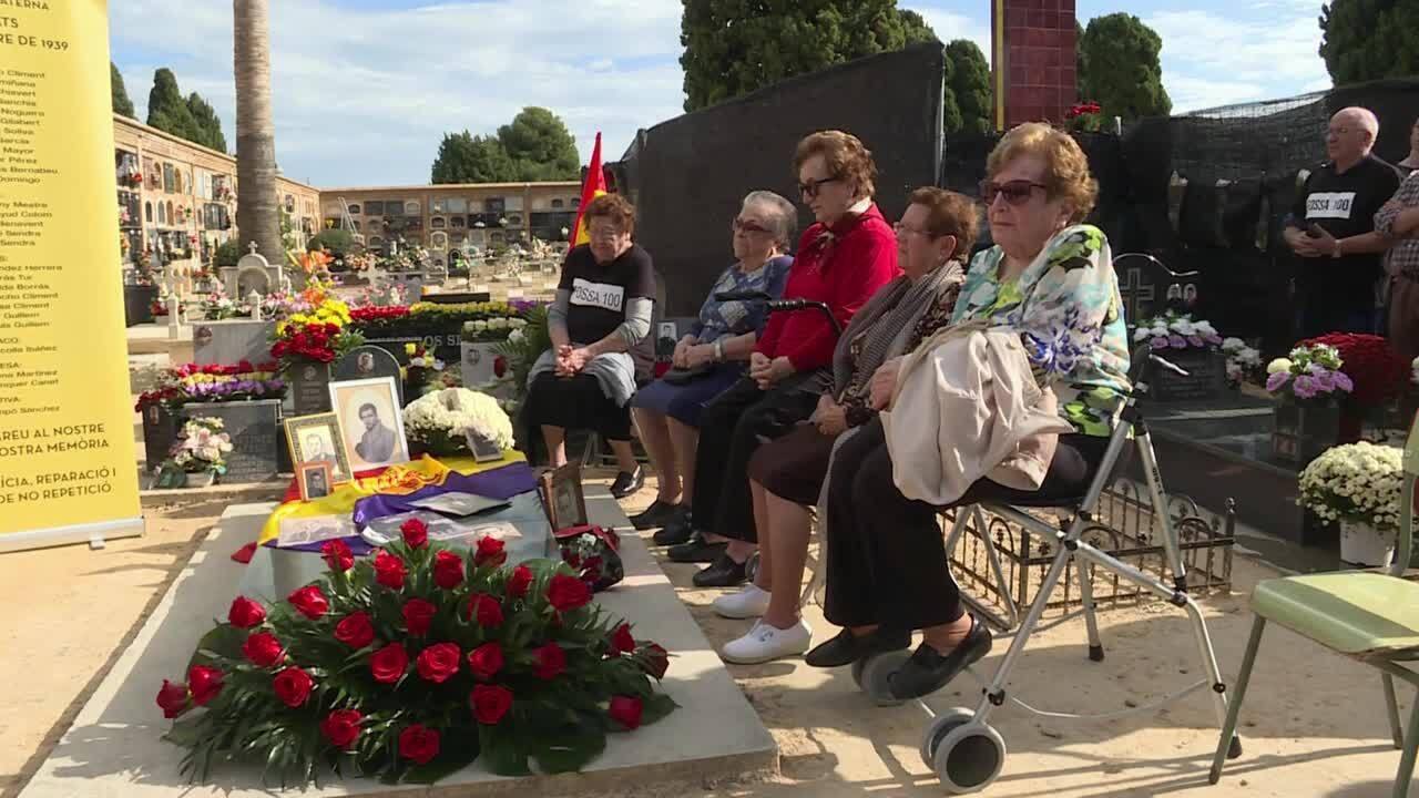 Les víctimes van ser executades fa 80 anys, amb la guerra ja acabada