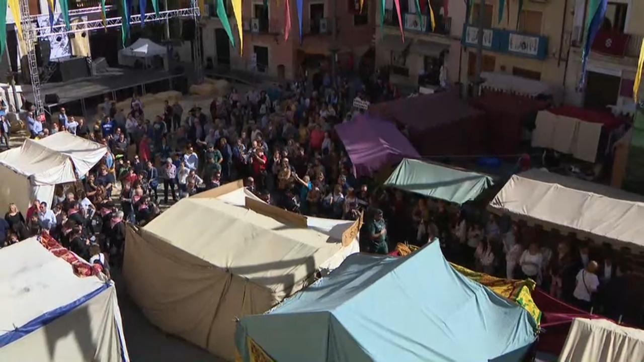 La fira reuneix fins diumenge 750 expositors on trobem bestiar, maquinària i productes agrícoles