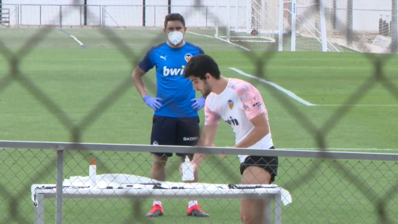El València torna a entrenar-se