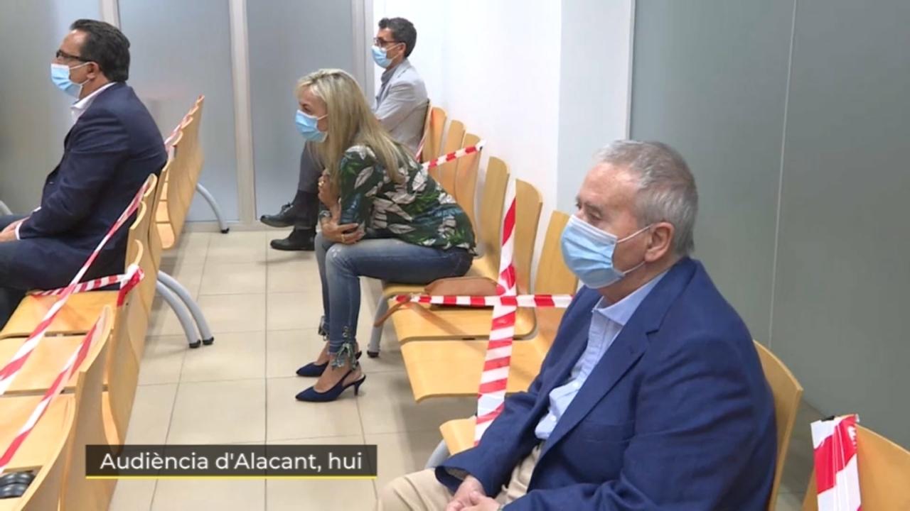 Dos exalcaldes d'Alacant, acusats per presumpta corrupció en el pla urbanístic d'Alacant