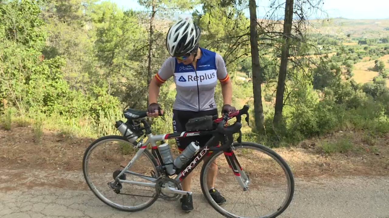 María José Silvestre aspira a fer podi en una de les carreres mundials de més prestigi de l'ultraciclisme.