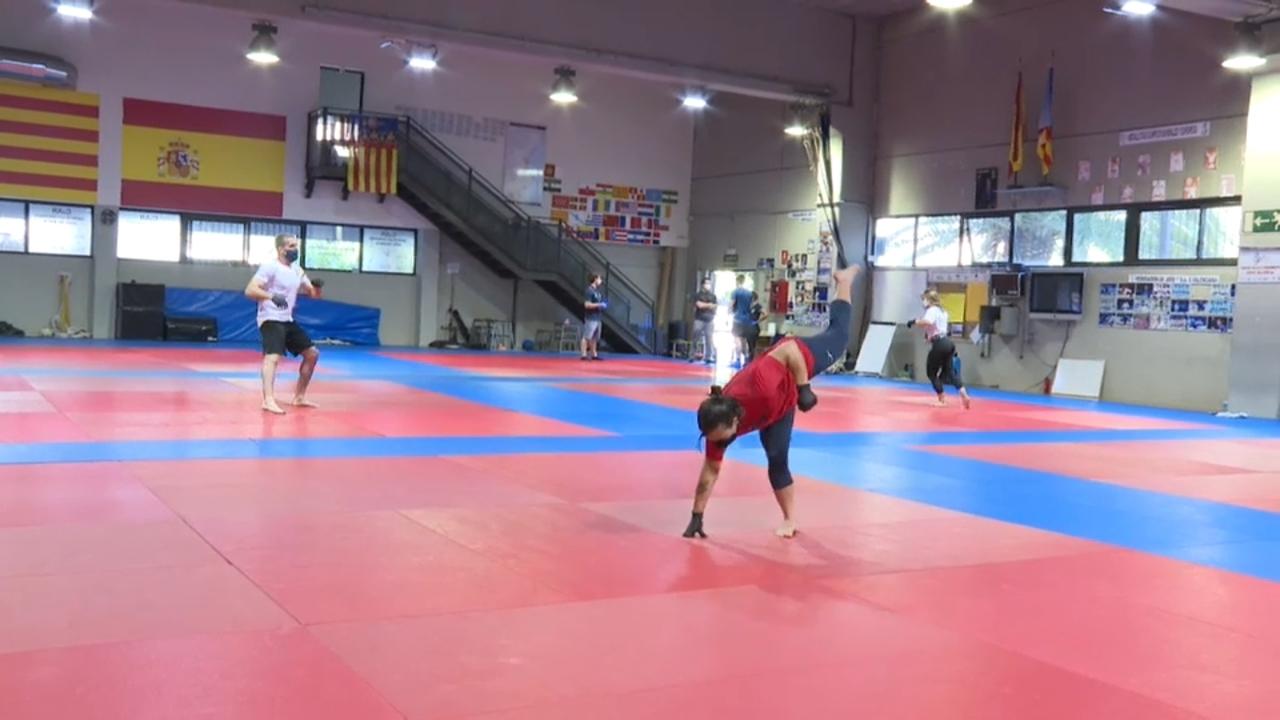 El CAR de Judo de València ha tornat a obrir seguint el protocol de Sanitat