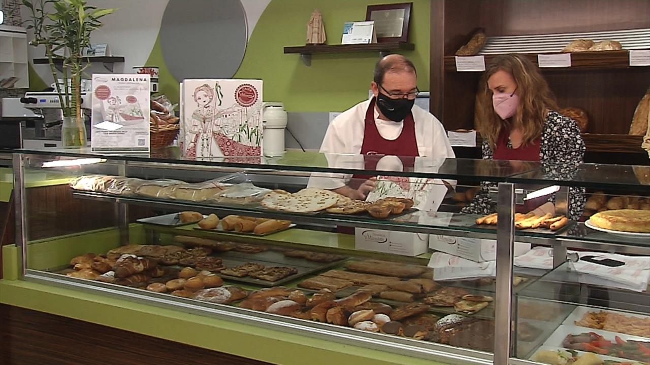 Els forns preparen els productes típics