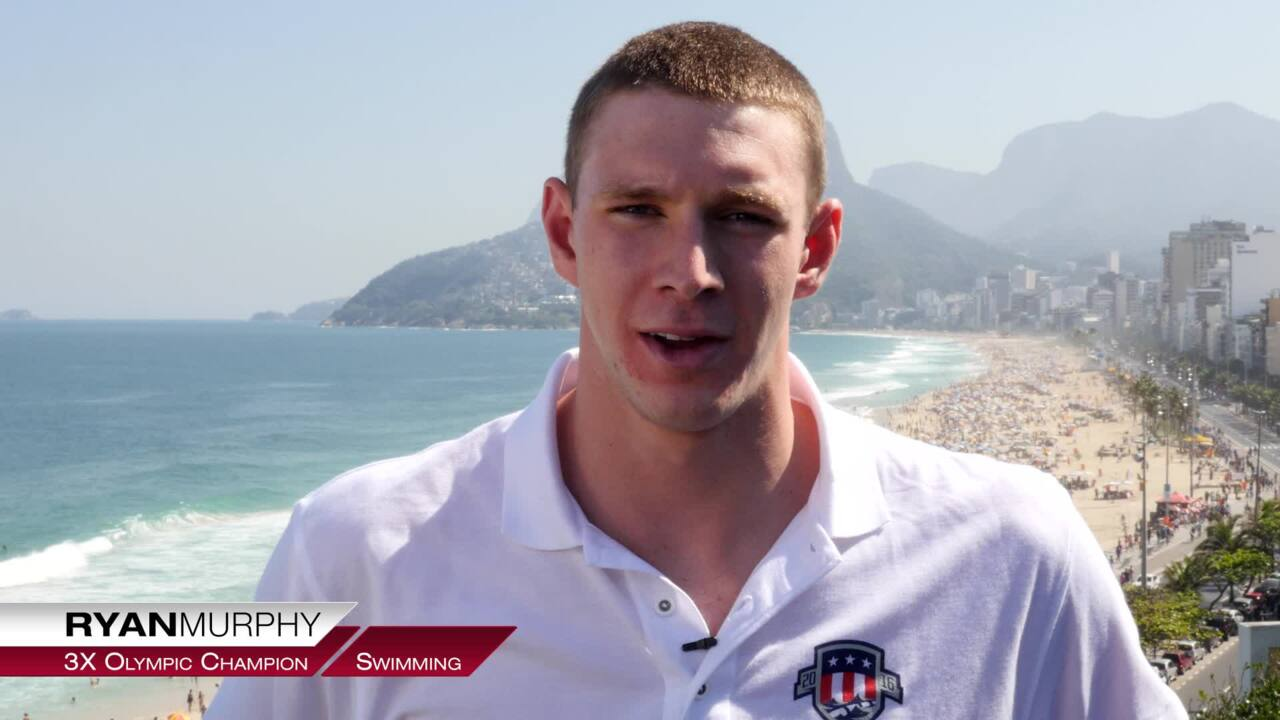 Ryan Murphy On His First Olympic Experience