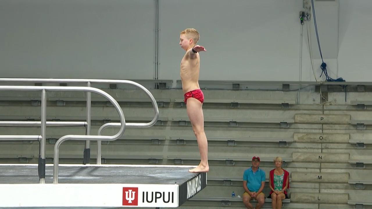 Joshua Hedberg 10-Meter Platform Semifinals   Diving U.S. Olympic Team Trials 2021
