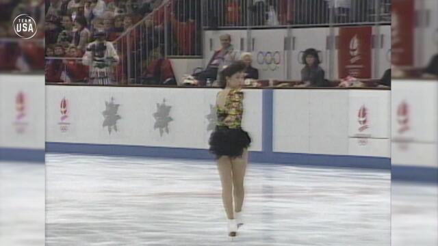 Gold Medal Moments Presented By HERSHEY'S | Kristi Yamaguchi Dazzles For Figure Skating Gold In Albertville