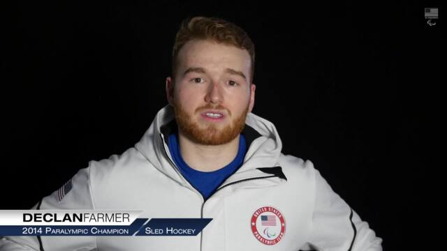 U.S. Sled Hockey Players Are Proud To Represent Their Country | PyeongChang Paralympics