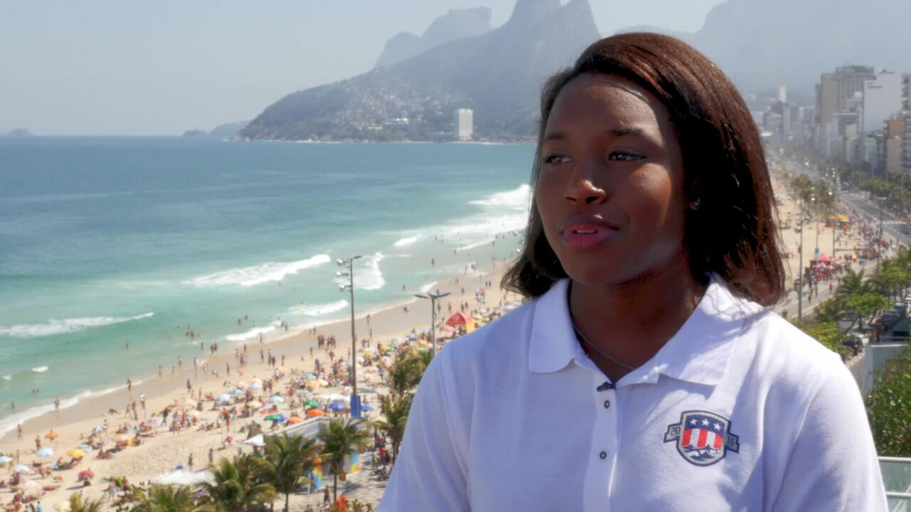 Simone Manuel On Being First Female African American Swimmer To Win Individual Gold