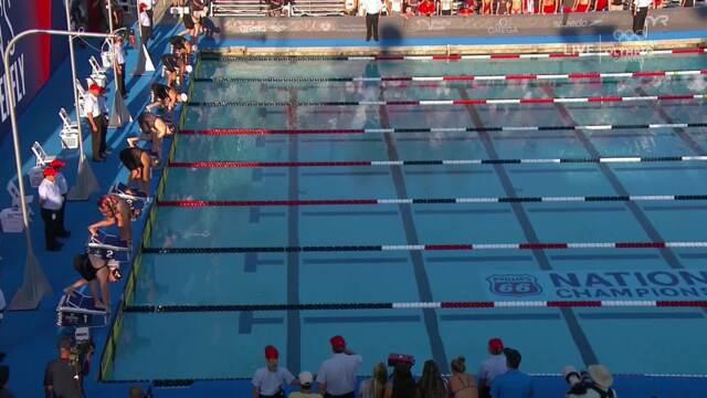 Kelsi Dahlia Dominates Women's 100m Fly | Summer Champions Series