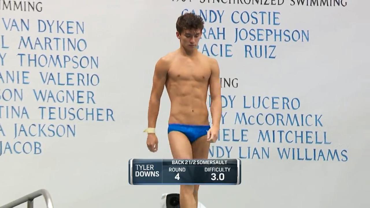 Tyler Downs Dive #4 - 3-Meter Springboard Semifinals | Diving U.S. Olympic Team Trials 2021