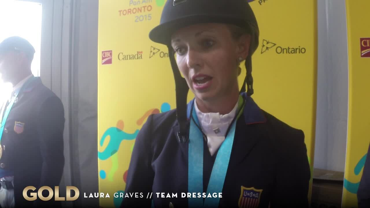 Laura Graves Helps Team USA To Gold