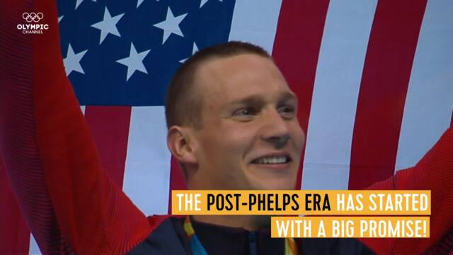 Olympic Channel: Dressel Joins All-Time Greats