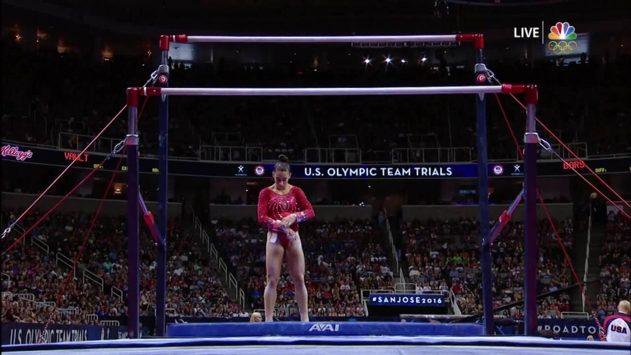 Olympic Gymnastics Trials | Aly Raisman Wants Redemption On Uneven Bars