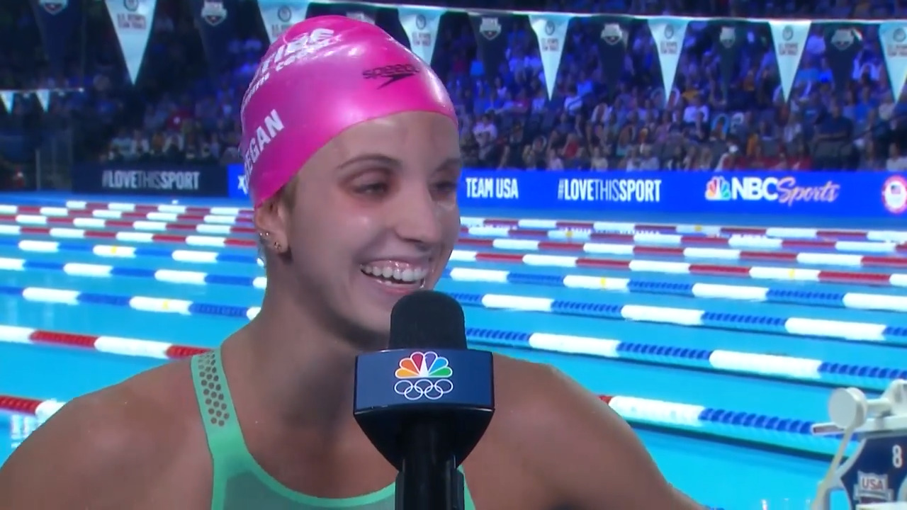 Regan Smith Post Women's 100M Backstroke Final Interview