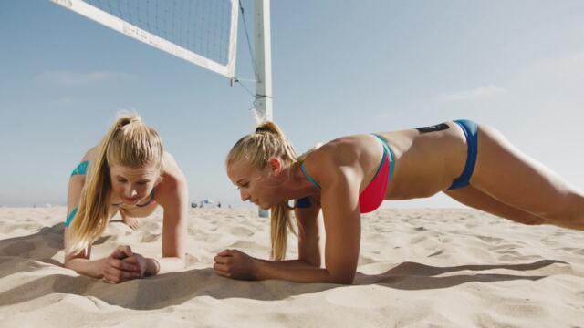 Sara Hughes and Summer Ross | Plank Trivia