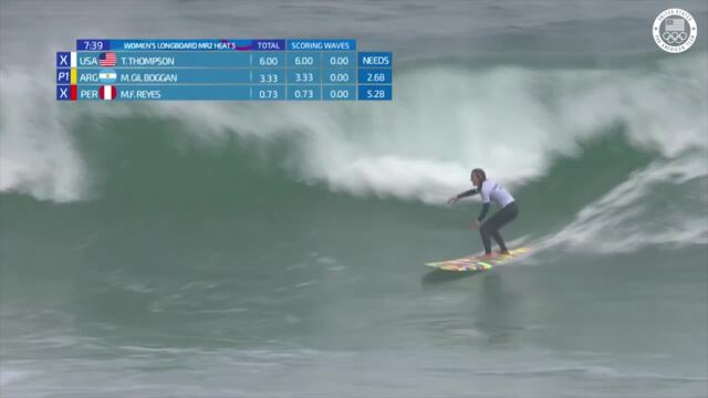 Tiare Thompson Rules The Waves In Round 2 | Pan American Games Lima 2019