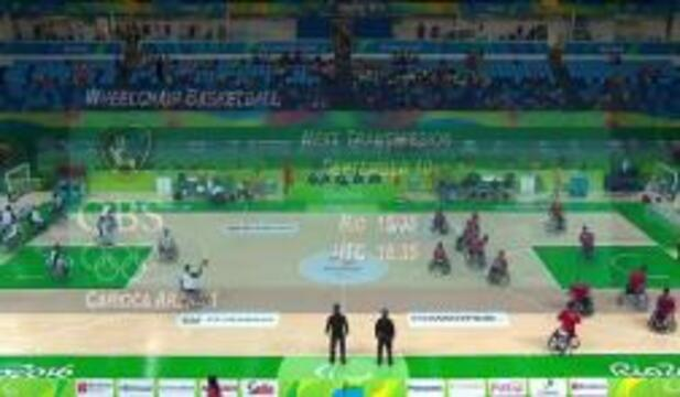 USA vs IRI | Men's Wheelchair Basketball | 2016 Paralympic Games