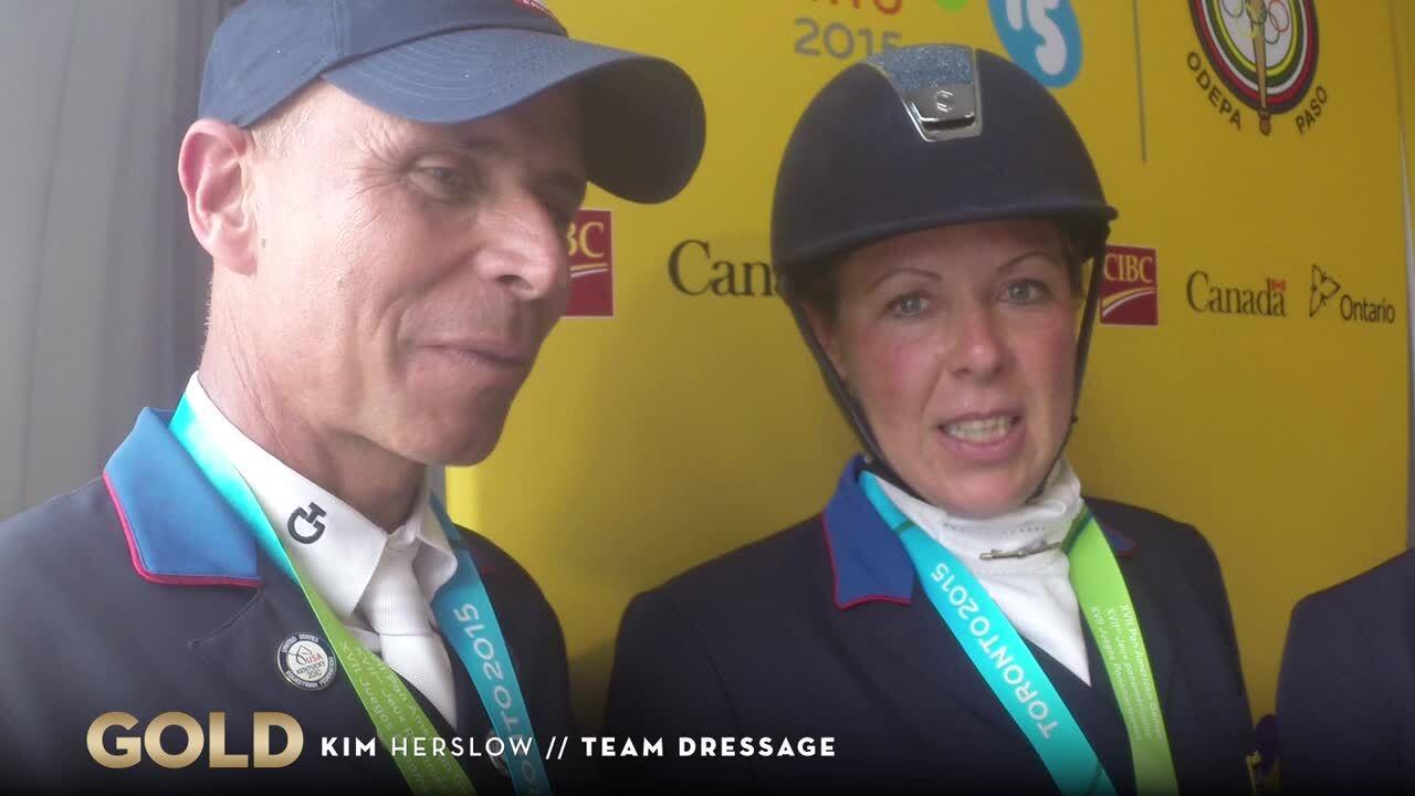 Kim Herslow Reflects On Winning Gold