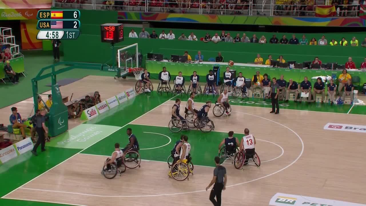 USA vs ESP | GOLD | Men's Wheelchair Basketball Gold Medal Game | 2016 Paralympic Games