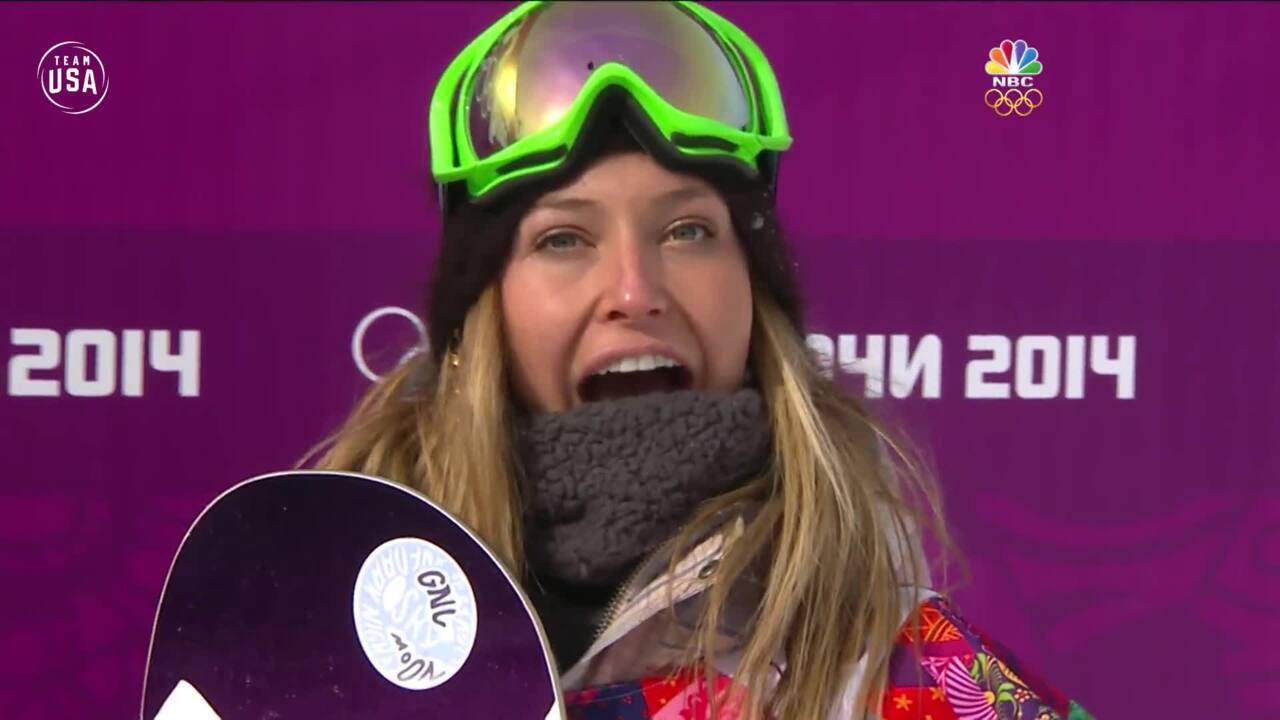 Team USA Olympic Anniversary | Jamie Anderson Sochi 2014