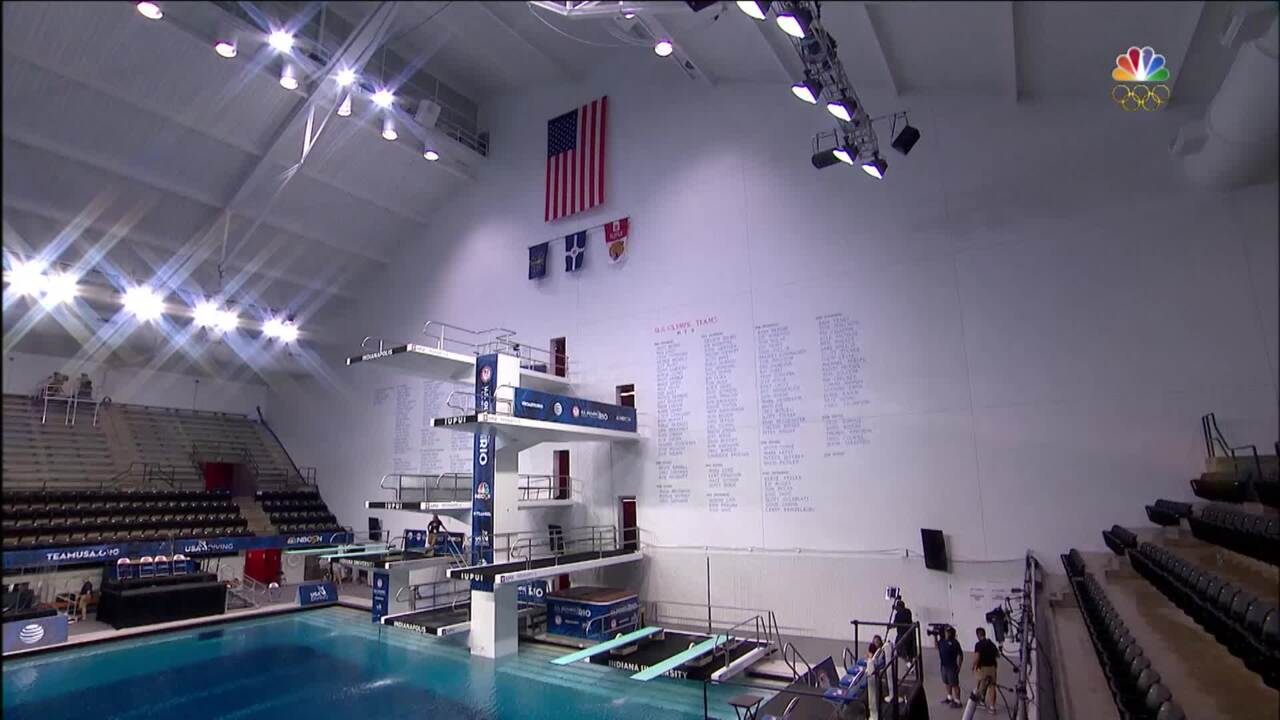 """Olympic Diving Trials   """"Consistency"""" Is Key In Semifinal"""