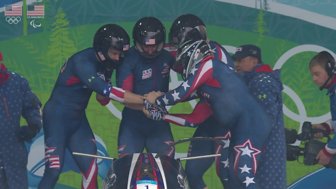 2010 Men's Bobsled Team - U.S. Olympic & Paralympic Hall of Fame Nominee