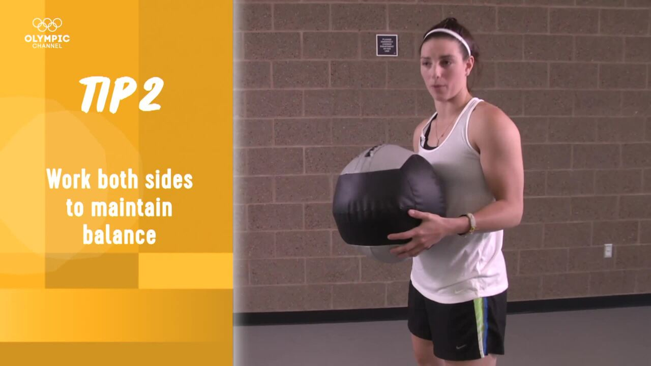 Olympic Channel: Olympians' Tips - Hilary Knight