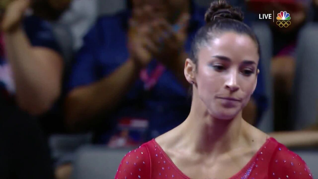 Olympic Gymnastics Trials | Aly Raisman Earns Second-Highest Beam Score