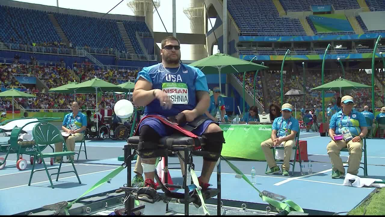 Michael Wishnia | Men's Shot Put - F57 - Final | 2016 Paralympic Games
