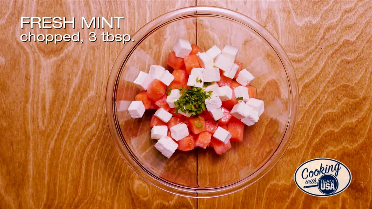 #MouthwateringMonday: Watermelon Salad