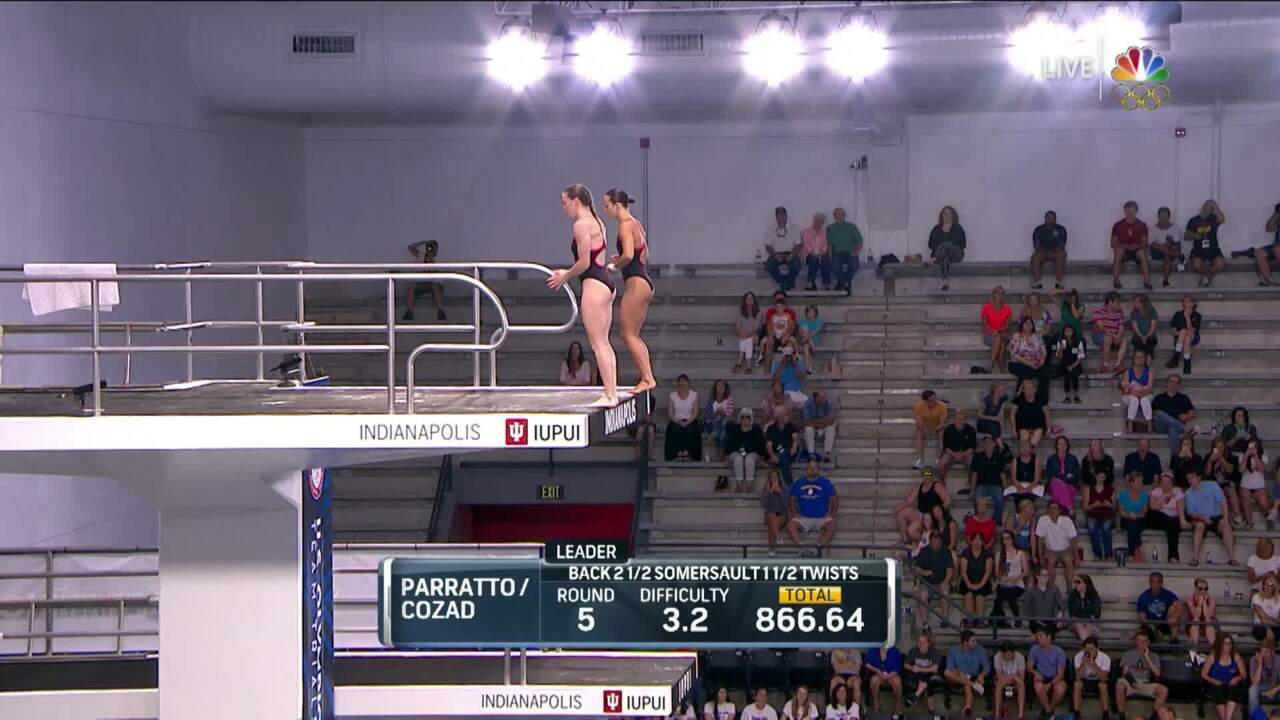 Olympic Diving Trials | Parratto, Cozad Clinch Synchro Trip To Rio