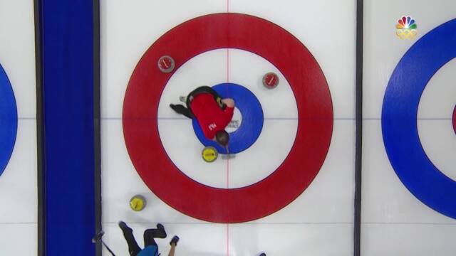 Olympic Mixed Doubles Curling Trials | Peterson-Polo Earn A 7-3 Win Over Persinger-Zezel