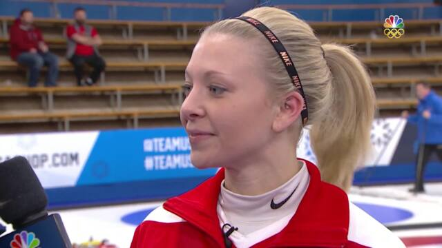 Olympic Mixed Doubles Curling Trials   Roth-Nernberger Recap Their Victory Against Walker-McLean