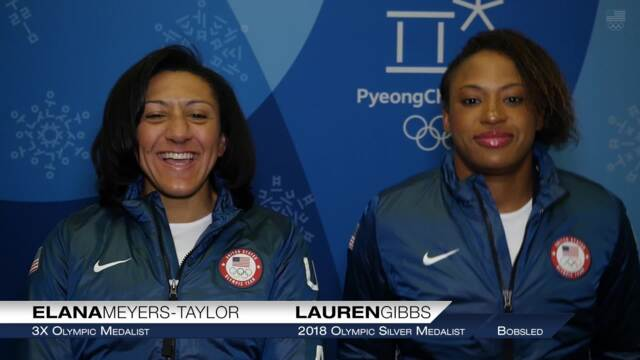 Elana Meyers Taylor And Lauren Gibbs On Being Olympic Silver Medalists   Team USA In PyeongChang
