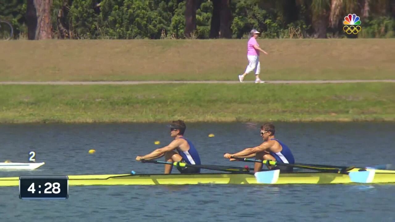 Andrew Campbell And Joshua Konieczny Row Their Way To Rio In Men's Lightweight Double Sculls