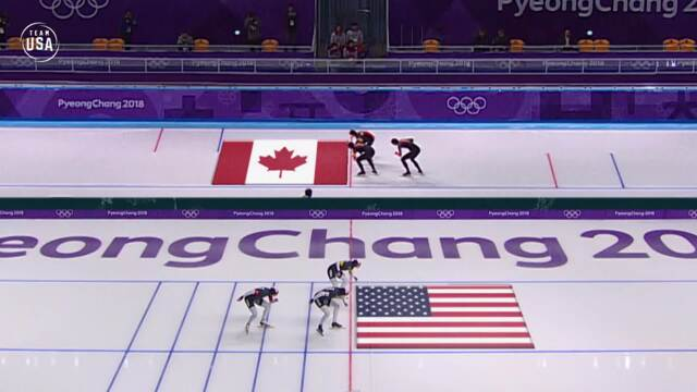 The U.S. Women's Speedskating Team Breaks The Drought, Earns Olympic Bronze In Team Pursuit