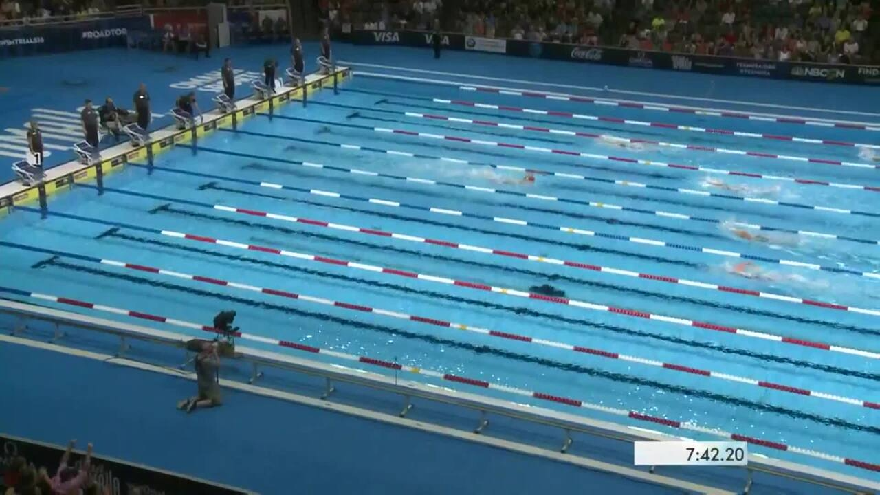 Olympic Swimming Trials | Solid Showing For Katie Ledecky In 800m Free Heats