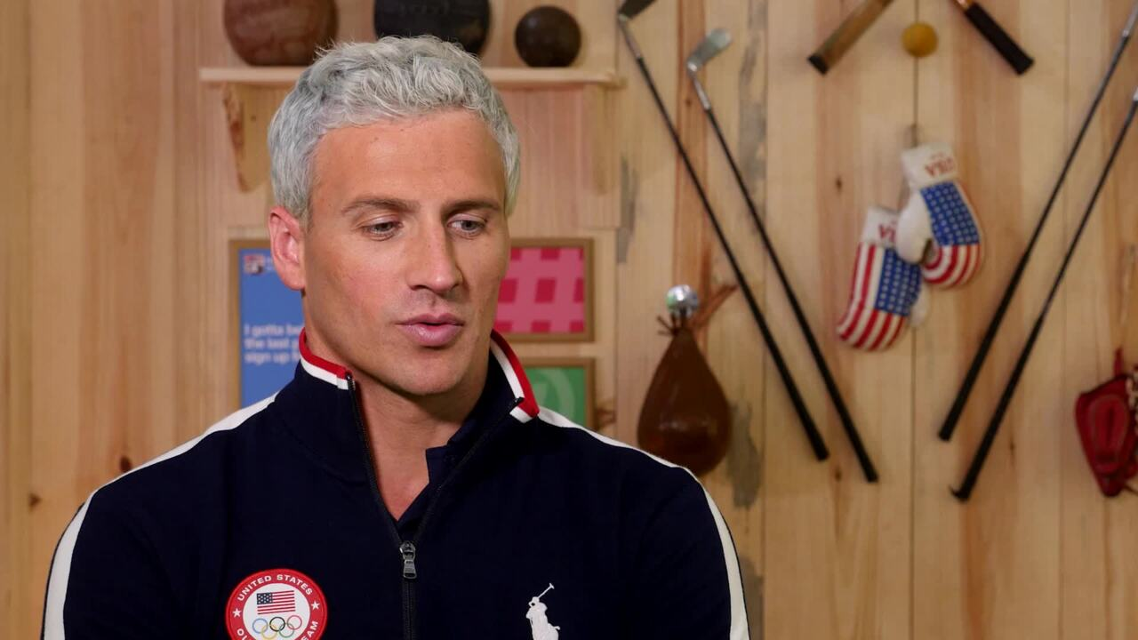 Ryan Lochte On His Olympic Roommates