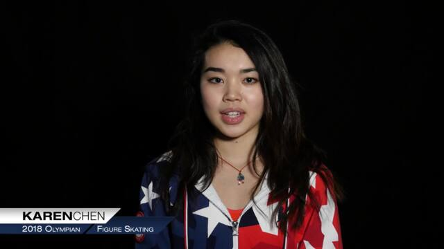 Karen Chen On Making Her First Olympic Team | Team USA In PyeongChang