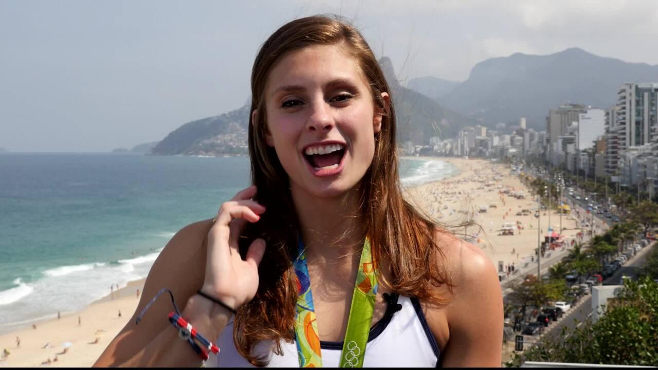 Katie Meili's Road To Winning Bronze In Rio